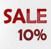 Sale 10% Royalty Free Stock Photography