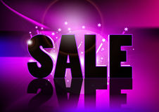 Sale. A 3d design for sale Royalty Free Stock Photos