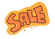 Sale. A design for sale Stock Images