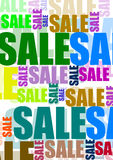 Sale. A  design for sale Royalty Free Stock Photo