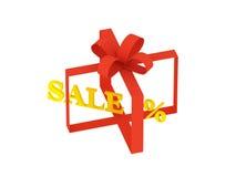 Sale% Lizenzfreie Stockfotos