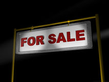 Sale. For sale. 3d isolated object royalty free stock photo