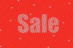 SALE. Great sign for the up coming s Stock Photo
