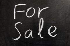 For sale Stock Photography