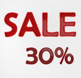 Sale 30% Stock Photography