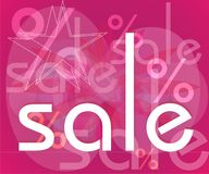 'sale'. Ready-to-print sale sign Royalty Free Stock Photo