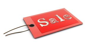 Sale in 3d stock illustration