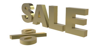 SALE - 3d rendering/illustration Stock Photography