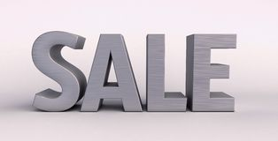 Sale 3d renfer Royalty Free Stock Photography