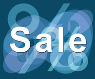 'sale'. Ready-to-print sale sign Royalty Free Stock Photography