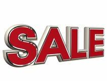 Sale. 3d illustration of the sale simbol Royalty Free Stock Photo