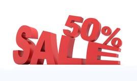 Sale 50% Stock Image