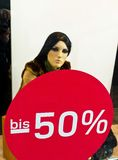 Sale 50 percent Stock Photography
