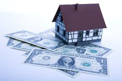 For sale. Houses for sale - real estate for sale; for money (dollars royalty free stock images