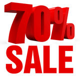 Sale 70% Icon Royalty Free Stock Photo