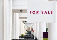 For Sale. Property For Sale - Real Estate Agent in London royalty free stock photos
