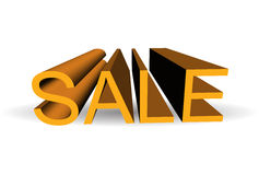 Sale. 3D SALE letters, 3d generated Stock Image