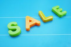 Sale. Text Royalty Free Stock Photography
