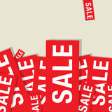 Sale abstract design Royalty Free Stock Photos