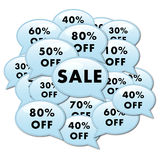 Sale add Icon Royalty Free Stock Photos