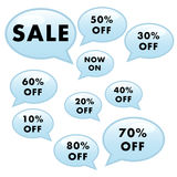 Sale add Poster Stock Photography