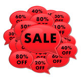 Sale On Ads Royalty Free Stock Photos