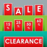 Sale advertisement Stock Image