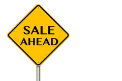 Sale Ahead Sign Royalty Free Stock Photography