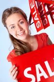 Sale announcement Stock Image