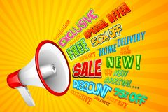 Sale Announcement Stock Images