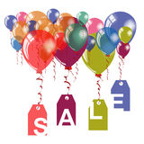 Sale announcement banner template. Stock Image