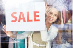Sale announcement Royalty Free Stock Photo
