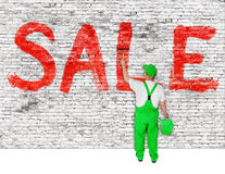 Sale announcement Stock Photo