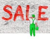 Sale announcement Stock Photo