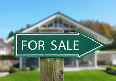 FOR SALE arrow Royalty Free Stock Photo