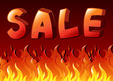 Sale artwork Stock Images