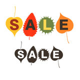 Sale. Autumn Royalty Free Stock Images