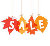 Sale autumn Royalty Free Stock Images