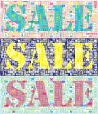 Sale backdrop Stock Photos