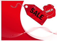 Sale_background Stock Images