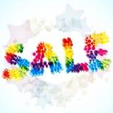 Sale background. Stock Photo