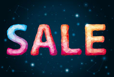 Sale on the background_1 Royalty Free Stock Photography