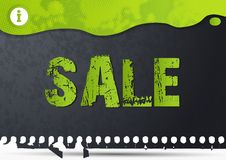 Sale background Royalty Free Stock Images