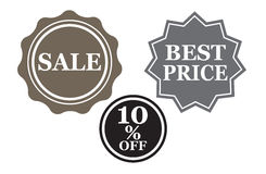 Sale badge Royalty Free Stock Photo