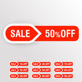 Sale badge. Royalty Free Stock Photos