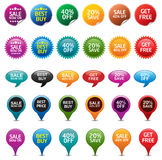 Sale Badges Stock Photos