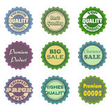 Sale Badges Stock Photography