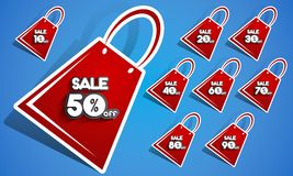 Sale Badges Royalty Free Stock Photography
