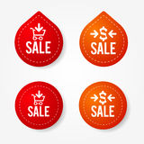 Sale badges and stickers Stock Images