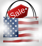 SALE Bag America Stock Images